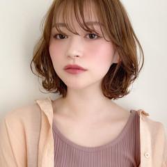 大人かわいい ナチュラル ミディアム 髪質改善トリートメント ヘアスタイルや髪型の写真・画像