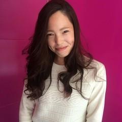 縮毛矯正 ロング 大人女子 ガーリー ヘアスタイルや髪型の写真・画像