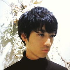 パーマ ナチュラル ショート 黒髪 ヘアスタイルや髪型の写真・画像