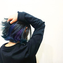 こなれ感 黒髪 外ハネ フェミニン ヘアスタイルや髪型の写真・画像