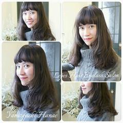 暗髪 ナチュラル 簡単 外国人風 ヘアスタイルや髪型の写真・画像