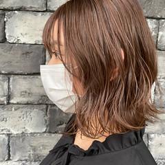 ミルクティーベージュ ヌーディーベージュ ナチュラルベージュ ピンクベージュ ヘアスタイルや髪型の写真・画像