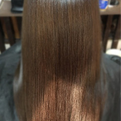 トリートメント ロング 上品 エレガント ヘアスタイルや髪型の写真・画像