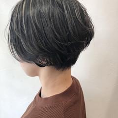 透明感 モード ハイライト 外国人風 ヘアスタイルや髪型の写真・画像