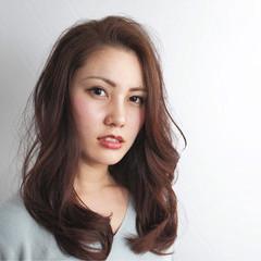 外国人風 ストリート セミロング ゆるふわ ヘアスタイルや髪型の写真・画像