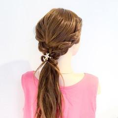 ヘアアレンジ 簡単ヘアアレンジ ロング 上品 ヘアスタイルや髪型の写真・画像