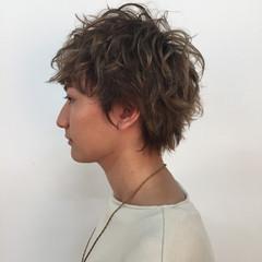 ボーイッシュ 外国人風 ショート ストリート ヘアスタイルや髪型の写真・画像