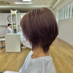 ストリート ウルフレイヤー ウルフ女子 ショート ヘアスタイルや髪型の写真・画像
