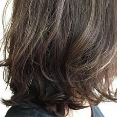 外国人風 ブラウン ナチュラル ボブ ヘアスタイルや髪型の写真・画像