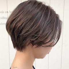 ミニボブ エレガント ショートボブ ショート ヘアスタイルや髪型の写真・画像