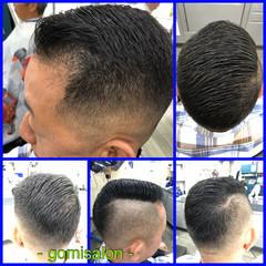 ショート ショートヘア ナチュラル メンズスタイル ヘアスタイルや髪型の写真・画像