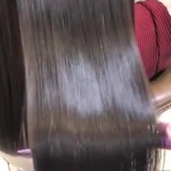 ロング 艶髪 髪質改善カラー 髪質改善トリートメント ヘアスタイルや髪型の写真・画像