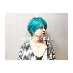 ストリート 色気 ウルフカット 大人かわいい ヘアスタイルや髪型の写真・画像