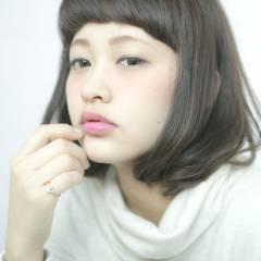 大人かわいい 暗髪 艶髪 モード ヘアスタイルや髪型の写真・画像