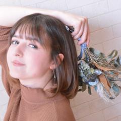 ショートヘア ナチュラル 髪質改善カラー ミニボブ ヘアスタイルや髪型の写真・画像
