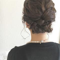 パーティ 外国人風 結婚式 ヘアアレンジ ヘアスタイルや髪型の写真・画像