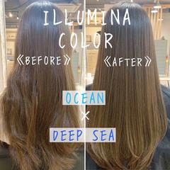 外国人風カラー エレガント モテ髪 ヘアカラー ヘアスタイルや髪型の写真・画像