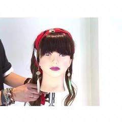 ヘアアレンジ オフィス ロング エレガント ヘアスタイルや髪型の写真・画像