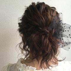 ヘアアレンジ ウェーブ ボブ 波ウェーブ ヘアスタイルや髪型の写真・画像