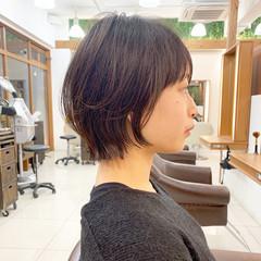 ウルフ女子 ショート ショートヘア ウルフカット ヘアスタイルや髪型の写真・画像
