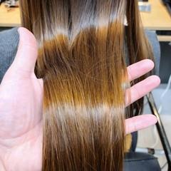 トリートメント ナチュラル 髪質改善 髪質改善カラー ヘアスタイルや髪型の写真・画像