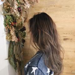艶髪 ナチュラル ニュアンス パーマ ヘアスタイルや髪型の写真・画像