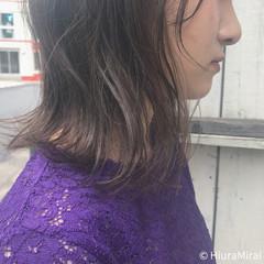 夏 リラックス ナチュラル ミディアム ヘアスタイルや髪型の写真・画像