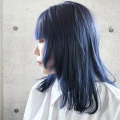 モード ハイトーンカラー ブリーチカラー 透明感カラー ヘアスタイルや髪型の写真・画像