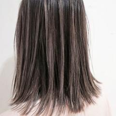 ガーリー ハイライト ローライト ボブ ヘアスタイルや髪型の写真・画像