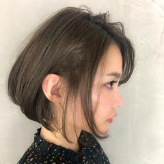 ナチュラル 簡単ヘアアレンジ ボブ デート ヘアスタイルや髪型の写真・画像