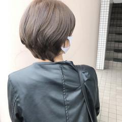 ショート ショートヘア ショートボブ フェミニン ヘアスタイルや髪型の写真・画像