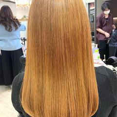 ハイトーンカラー 艶髪 髪質改善 髪質改善トリートメント ヘアスタイルや髪型の写真・画像