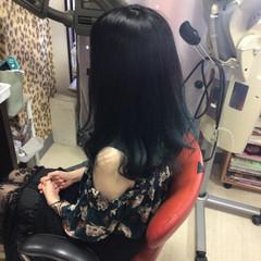 グラデーション 外国人風カラー グラデーションカラー ロング ヘアスタイルや髪型の写真・画像