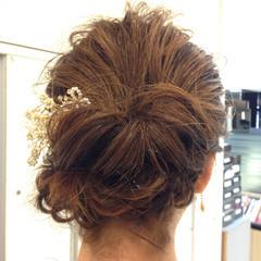 ボブ 結婚式 大人かわいい ヘアアレンジ ヘアスタイルや髪型の写真・画像