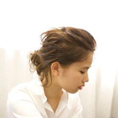 外国人風 ハーフアップ 大人かわいい ゆるふわ ヘアスタイルや髪型の写真・画像