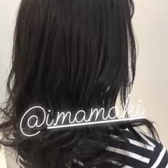 オルチャン 渋谷系 ミディアム 大人かわいい ヘアスタイルや髪型の写真・画像