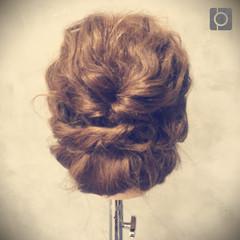 簡単ヘアアレンジ ゆるふわ ヘアアレンジ ショート ヘアスタイルや髪型の写真・画像