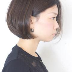 色気 アッシュ 黒髪 小顔 ヘアスタイルや髪型の写真・画像