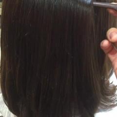 オフィス デート トリートメント ナチュラル ヘアスタイルや髪型の写真・画像