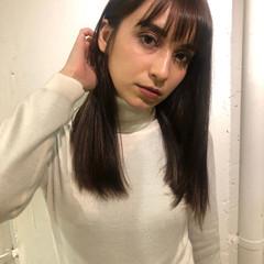 髪質改善トリートメント 外国人風カラー ストレート ナチュラル ヘアスタイルや髪型の写真・画像