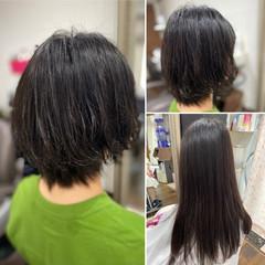 ベリーショート 切りっぱなしボブ ショートヘア ボブ ヘアスタイルや髪型の写真・画像