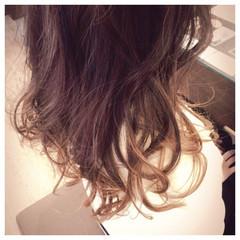ハイライト コンサバ アッシュ グラデーションカラー ヘアスタイルや髪型の写真・画像