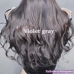 ショートボブ ロング ナチュラル インナーカラー ヘアスタイルや髪型の写真・画像
