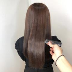 髪質改善 ヘアアレンジ 髪質改善トリートメント ロング ヘアスタイルや髪型の写真・画像