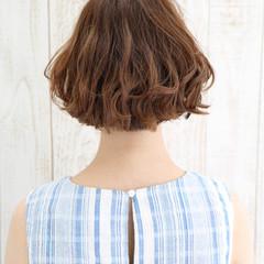 ストリート ハイライト 大人かわいい 前髪あり ヘアスタイルや髪型の写真・画像