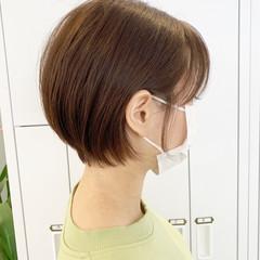 ベリーショート ショート 小顔ショート ナチュラル ヘアスタイルや髪型の写真・画像