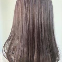 ミディアム インナーカラー ガーリー ベリーショート ヘアスタイルや髪型の写真・画像