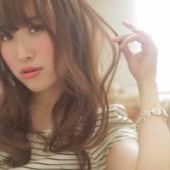 コンサバ 大人かわいい フェミニン 春 ヘアスタイルや髪型の写真・画像
