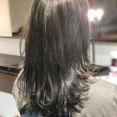 ウルフカット ミディアム 色気 バレンタイン ヘアスタイルや髪型の写真・画像