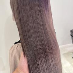 大人ハイライト ハイトーン ハイトーンカラー ロング ヘアスタイルや髪型の写真・画像